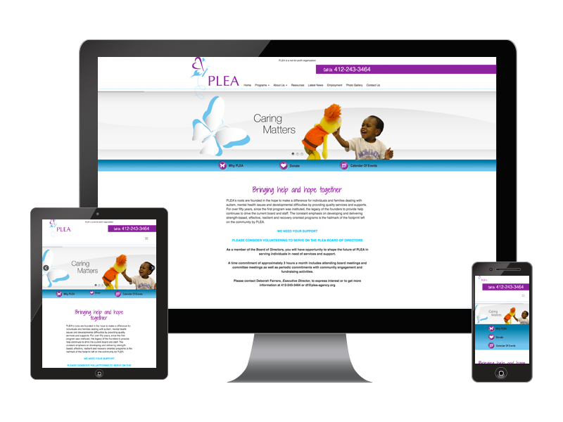 Nonprofit Organization Donor Building Website